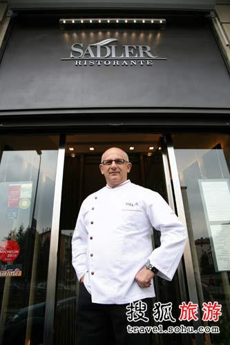 米其林二星级厨师 Claudio Sadler