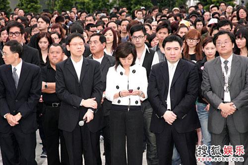 TVB全台艺人默哀