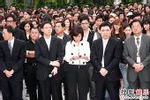 香港:TVB全台艺人默哀 悼念四川地震死难者