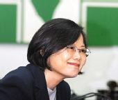 蔡英文就任民进党主席 谢长廷陈水扁将同台(图)