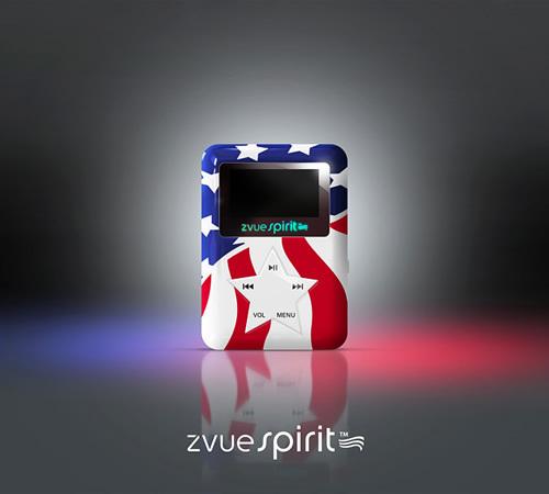 国外MP3外观造型奇特 按键五角星型设计