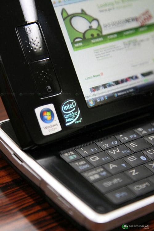 掌上尤物 夏普Sharp UMPC D4精美图赏
