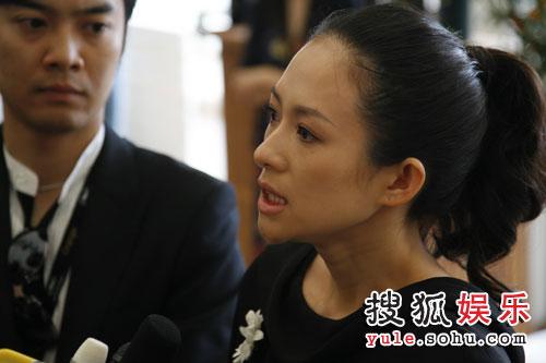 章子怡积极游说捐款