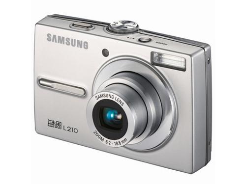 千万像素家用相机 三星L210超低价还送卡