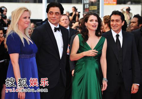 《密不可分》戛纳首映 麦当娜等众星出席-1