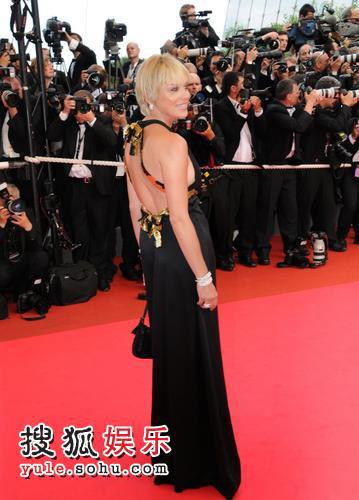 《密不可分》戛纳首映 麦当娜等众星出席-8