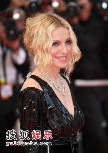 《密不可分》戛纳首映 麦当娜等众星出席-10