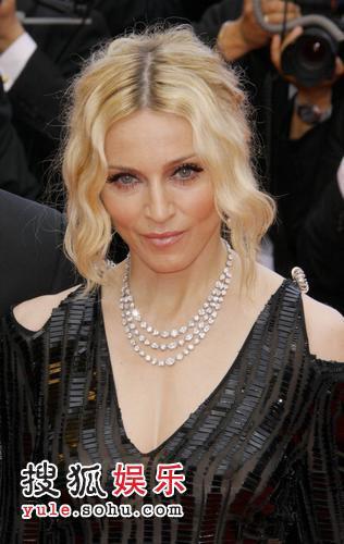 《密不可分》戛纳首映 麦当娜等众星出席-22