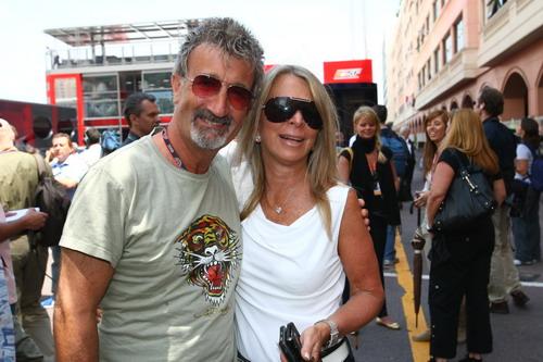 图文:[F1]摩纳哥站排位赛 埃迪乔丹来到现场