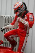 """图文:[F1]摩纳哥站排位赛 莱科宁""""打醉拳"""""""