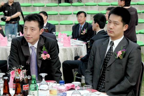 图文:第13届LG杯开幕式 中国夺冠热门常昊古力