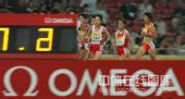 图文:中国赛女子5000米决赛 孙英杰拼尽全力