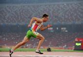 图文:中国田径赛男子4X400米接力 澳洲队冠军