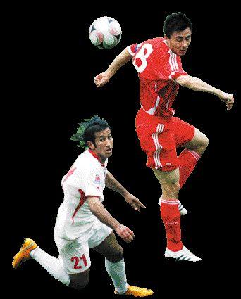 李玮锋在比赛中攻入一球