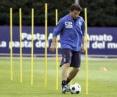 图文:意大利训练备战欧洲杯 皮耶罗状态不错