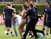图文:意大利训练备战欧洲杯 保安迅速出动