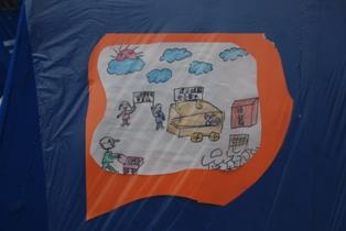 帐篷涂鸦1