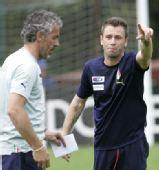 图文:意大利队集训备战欧洲杯 卡萨诺怒对主帅