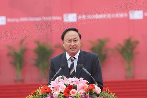 图文:江苏省委常委、南京市委书记朱善璐讲话