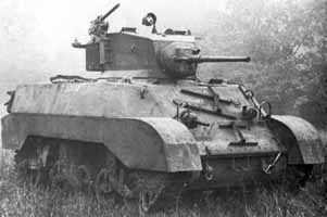 美国M3轻型坦克