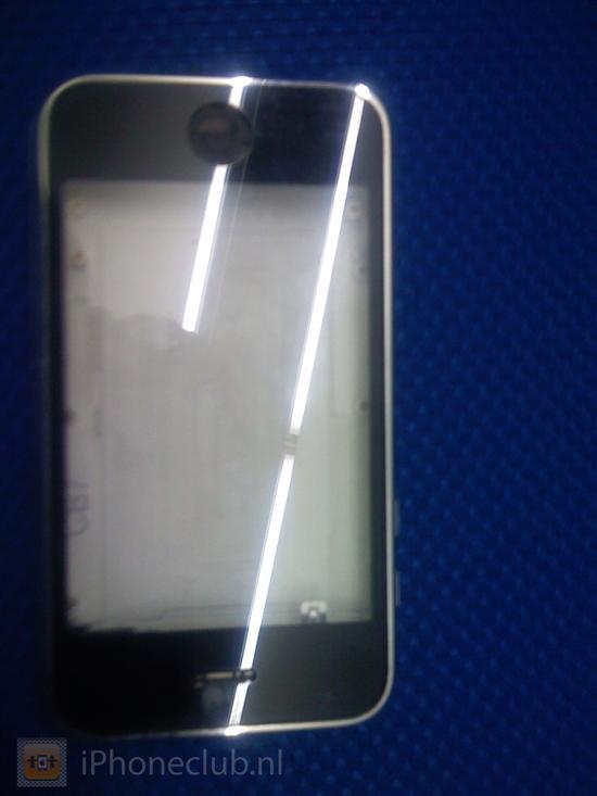 白色3G iPhone新谍照