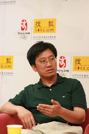 卧龙中国保护大熊猫研究中心的王鹏彦副局长