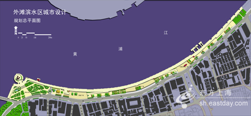 八角广场平面图