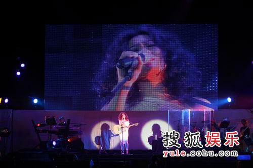 蔡健雅精彩写真 演唱会现场