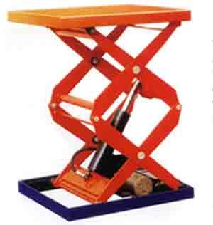 固定式液压升降台图片