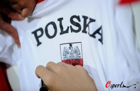 图文:波兰队备战欧洲杯 为波兰而骄傲
