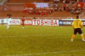 图文:[亚洲杯]女足VS越南 韩端疾奔