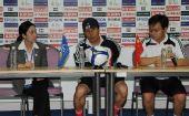 图文:[亚洲杯]女足VS越南 商瑞华出席发布会
