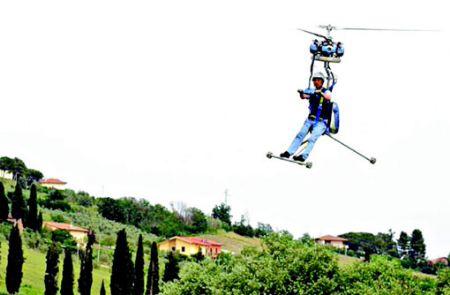 世界上最小的单人座直升机