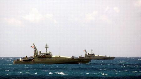 阿米代尔级巡逻艇是用来替代陈旧的弗利曼多级巡逻艇的,是多功能战舰,可以执行多种任务
