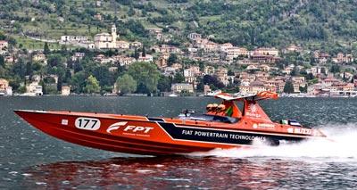 四发动机FTP赛艇