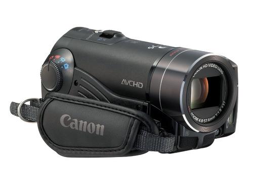 全高清带光学防抖 佳能闪存DV机HF10上市