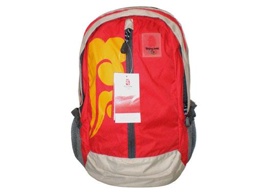 图文:奥运火炬特许商品 核心图形20升背包