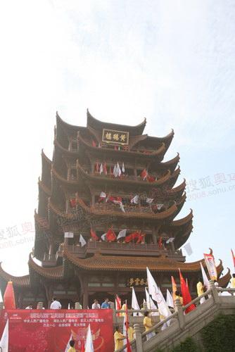 武汉的标志之一——黄鹤楼