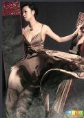 组图:张怡宁变身摩登女郎 复古妖艳成多面美女