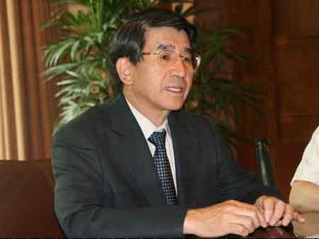 滨田政则接受记者专访