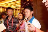 组图:北京奥运火炬接力武汉站联想新闻发布会