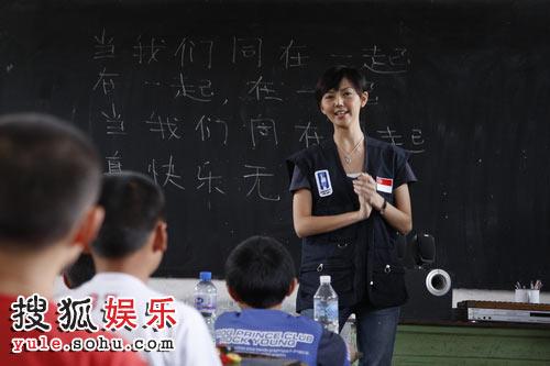 孙燕姿当老师