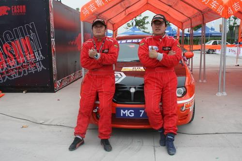 卫-辛吉斯获得全场冠军,上海FCACA车队的新西兰外援安东尼-麦克尔