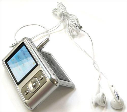 数码也环保日本推出太阳能MP3播放器