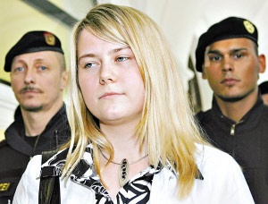 5月15日,娜塔莎出现在奥地利格拉茨的法庭上。
