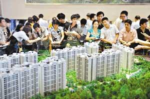 4000元/平方米的限价房受到市民的追捧。