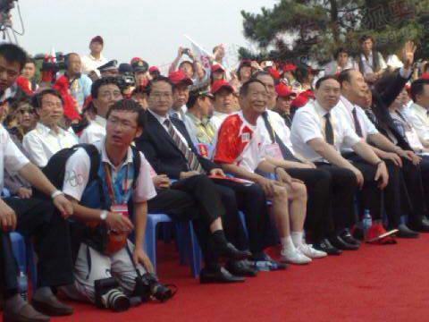 袁隆平出席开幕仪式