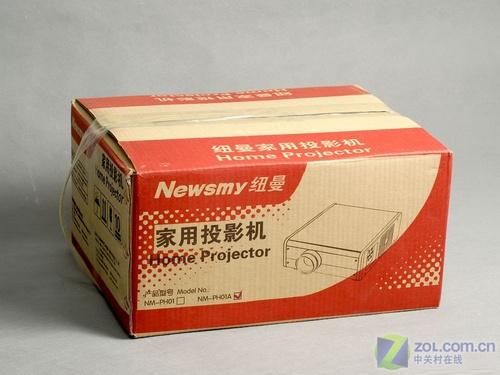 终于等到!纽曼1999元投影机到货北京