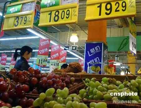 中国农产品价格已经连续八周呈回落态势,而生产资料市场价格总水平则延续四月中旬以来稳中攀升走势,继续小幅上涨。 中新社发绍常摄