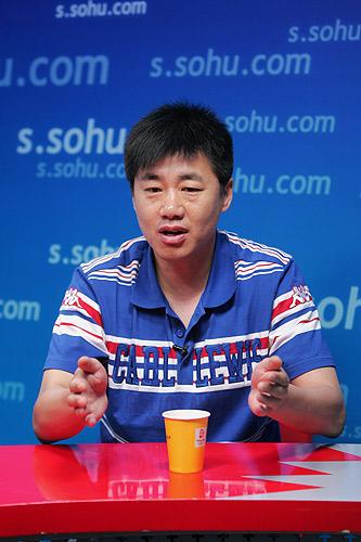 图文:名嘴PK国足世界杯 陶伟回忆多年球员生活